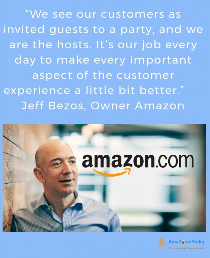Amazonepedia - Citat Jeff Bezos - Amazon