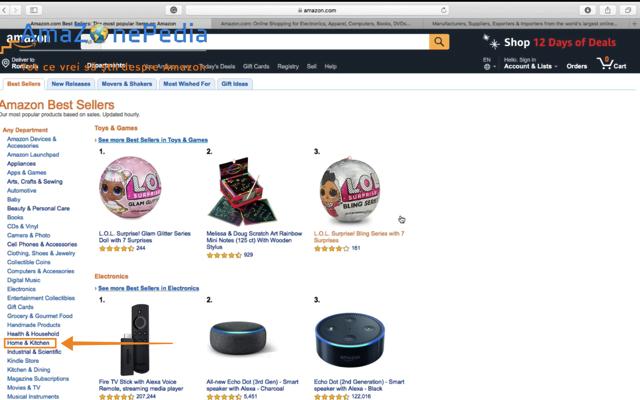 Amazonepedia - Tutorial Cautare produs 1