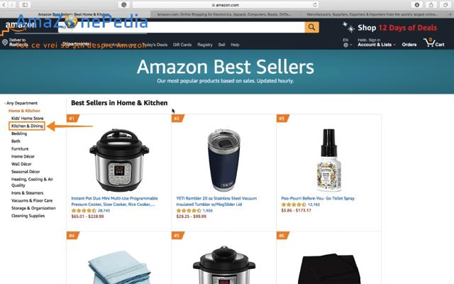 Amazonepedia - Tutorial Cautare produs 2