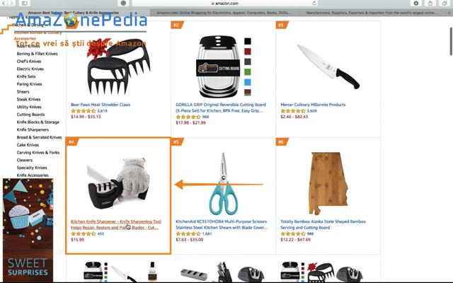 Amazonepedia - Tutorial Cautare produs 4