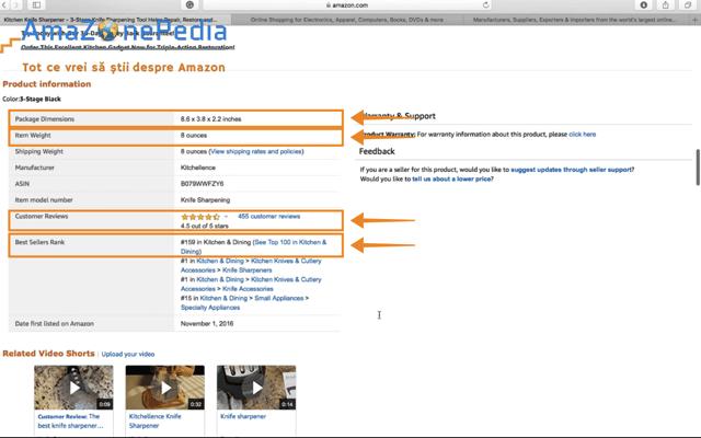 Amazonepedia - Tutorial Cautare produs 6